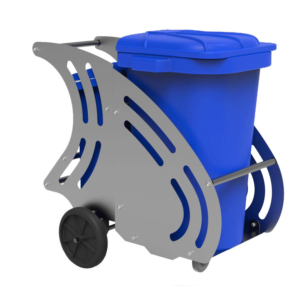 seyyar çöp arabası, meydancı arabası, çöp arabası, çöp kovası